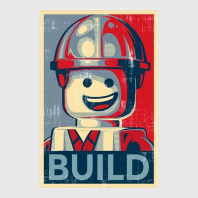 Постер Лего Строитель