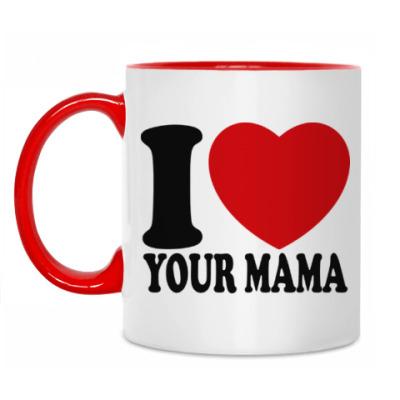 Кружка Люблю твою маму