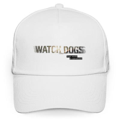 Кепка бейсболка Watch Dogs. Your world is connected.