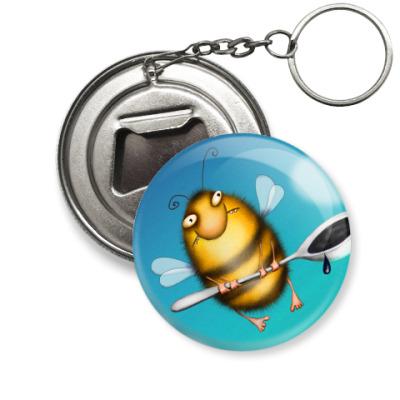 Брелок-открывашка  Пчела