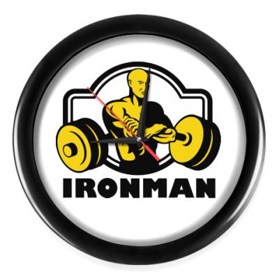 Настенные часы Ironman