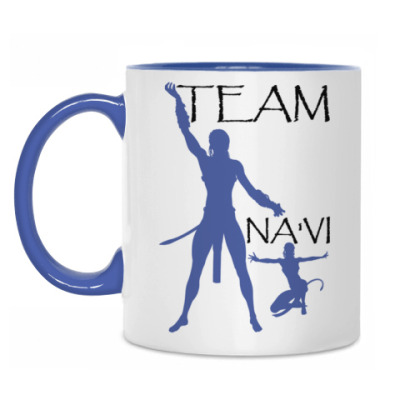Кружка Team Na'vi