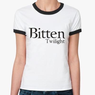 Женская футболка Ringer-T Сумерки