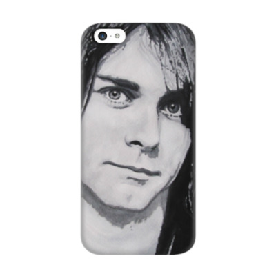 Чехол для iPhone 5c Kurt Cobain