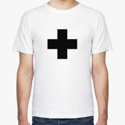 Футболка Черный Крест