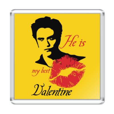 Магнит My best Valentine