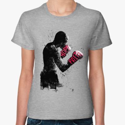 Женская футболка Боец