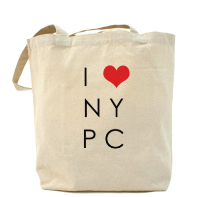 Сумка  I LOVE NYPC