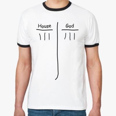 Футболка Ringer-T House God