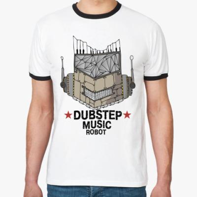 Футболка Ringer-T Dubstep