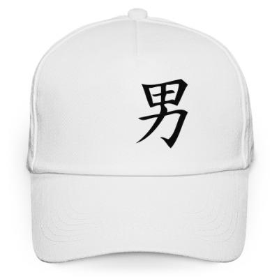 Кепка бейсболка Китайский иероглиф