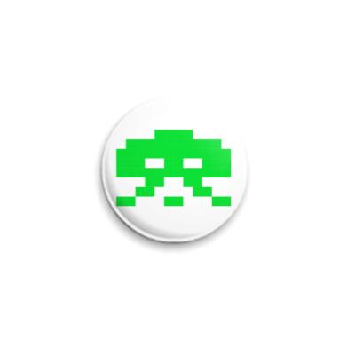 Значок 25мм Space Invader