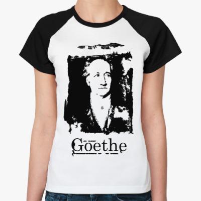 Женская футболка реглан Goethe