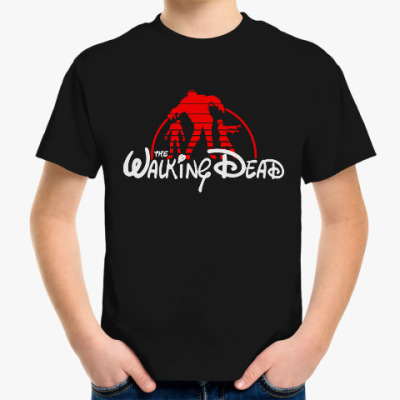 Детская футболка The Walking Dead
