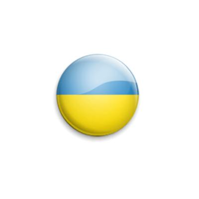 Значок 25мм Ukraine