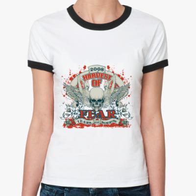 Женская футболка Ringer-T Harvest