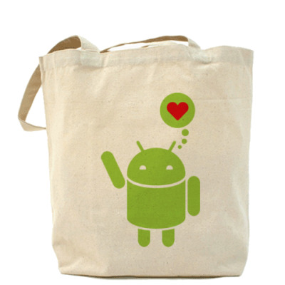 Сумка Love Android