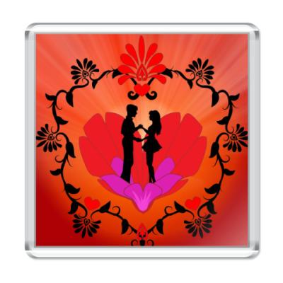 Магнит Танцующая пара