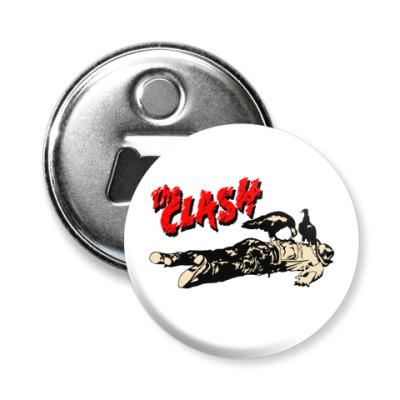 Магнит-открывашка The Clash