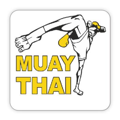 Костер (подставка под кружку) Muay Thai