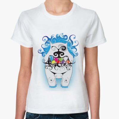 Классическая футболка 'Кучерявый'
