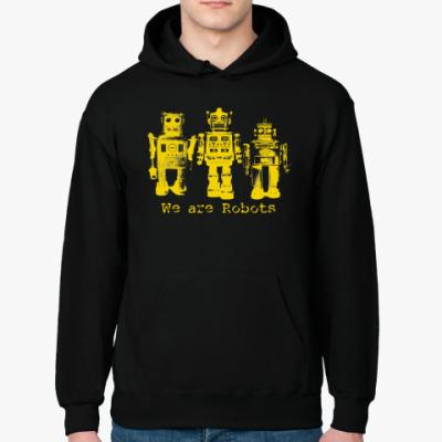 Толстовка худи Роботы