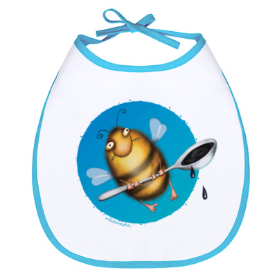 Слюнявчик Слюнявчик Пчела