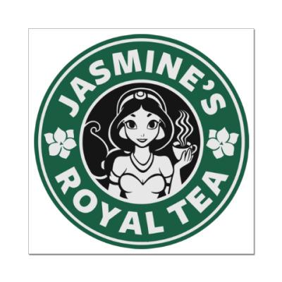 Наклейка (стикер) Жасминовый чай