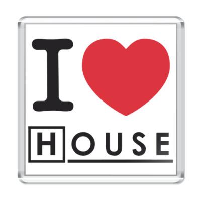 Магнит I heart House