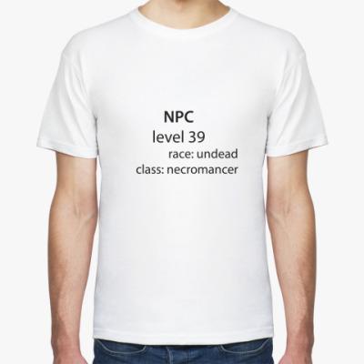 Футболка NPC