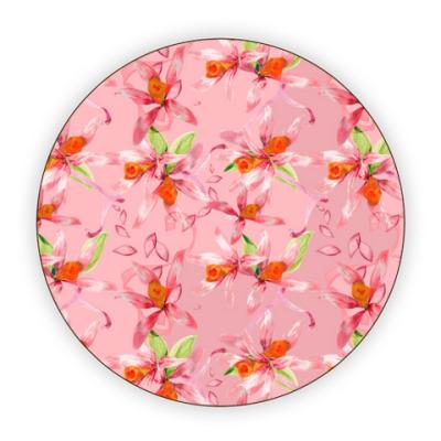Костер (подставка под кружку) Нежные цветы
