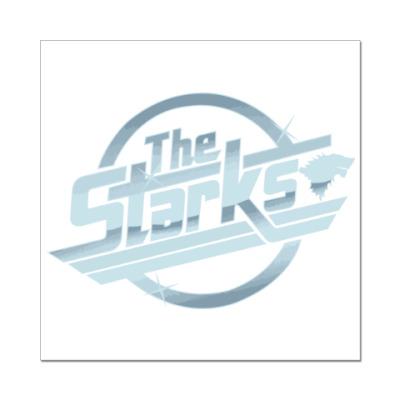 Наклейка (стикер) The Starks