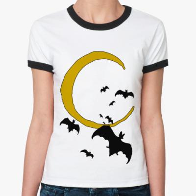 Женская футболка Ringer-T Bats