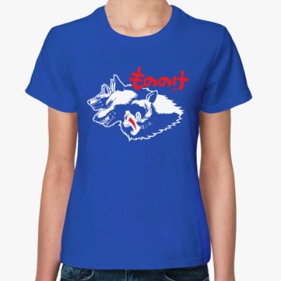 Женская футболка Принцесса Мононоке Мияздаки