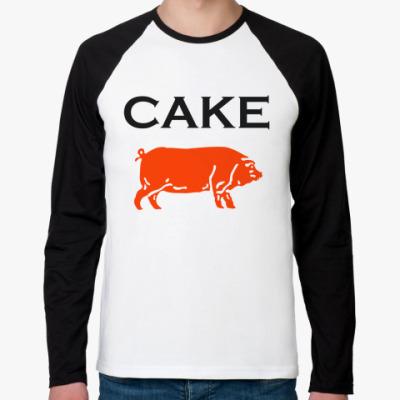 Футболка реглан с длинным рукавом Cake