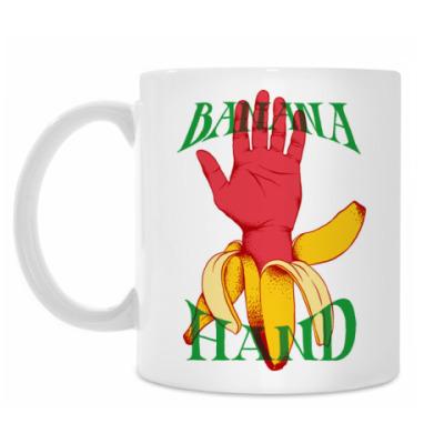 Кружка Banana Hand