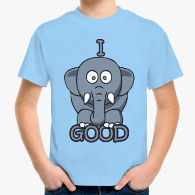 Детская футболка Я хороший