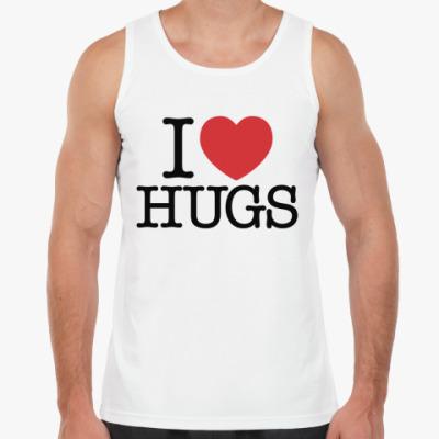 Майка I love HUGS