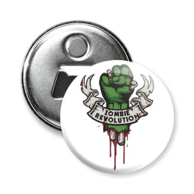 Магнит-открывашка Революция Зомби