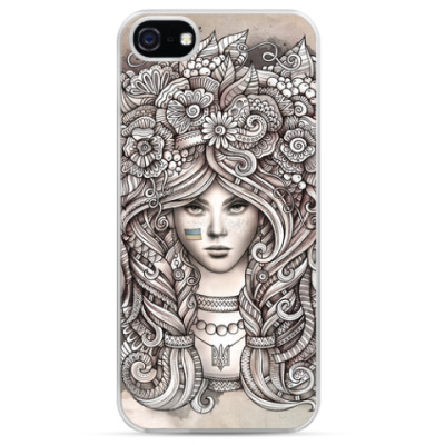 Чехол для iPhone Ukrainian girl