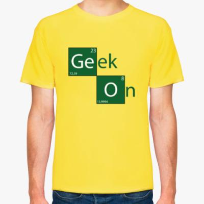 Футболка Geek On