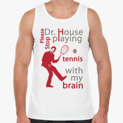 Майка House tennis