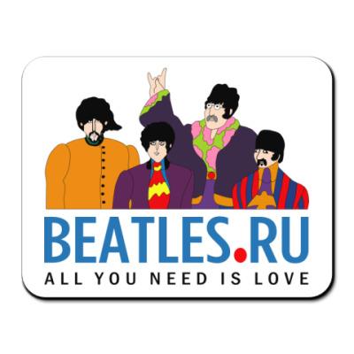 Коврик для мыши  Beatles.ru