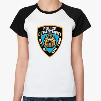 Женская футболка реглан Police