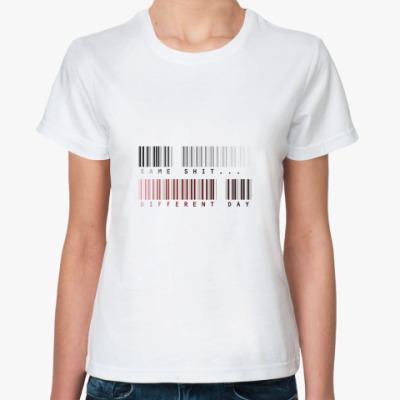 Классическая футболка  Same...