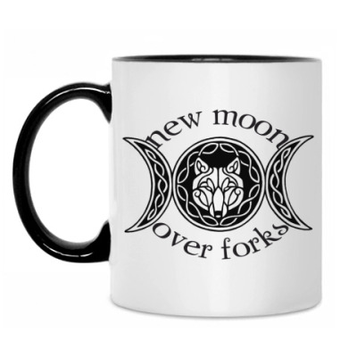Кружка New Moon over Forks