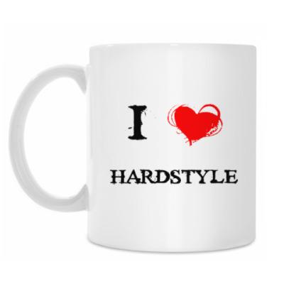 Кружка i love hardstyle