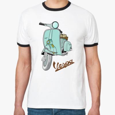 Футболка Ringer-T   Vespa