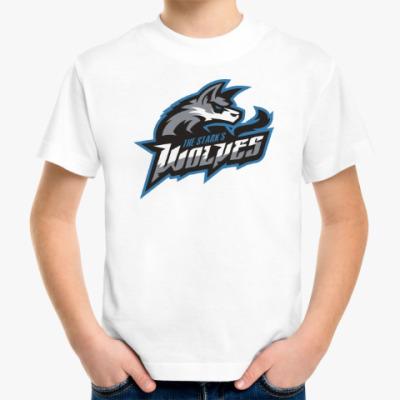 Детская футболка Волки Старков