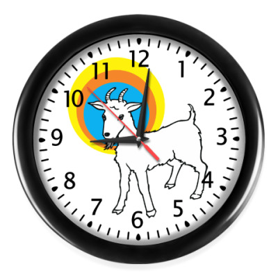 Настенные часы Год козы